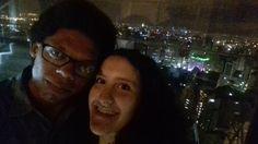 Terraço do Edifício Itália em São Paulo, SP. Jantar Romântico a Luz de velas,  Música ao vivo, e com uma vista panorâmica de São Paulo. Uma surpresa de boas vindas para o meu amor !!!
