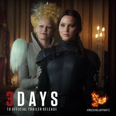 Who's excited? I'm excited. Are we all excited?! New trailer for The Hunger Games: Mockingjay Part 2 this Thursday.