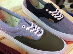 "Vans California Era ""Chambray Polka"" Pack"