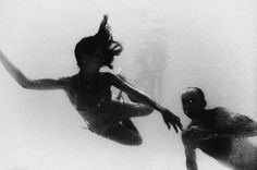 Summer stew II by Emil Kozak - Underwater shapes in black and white
