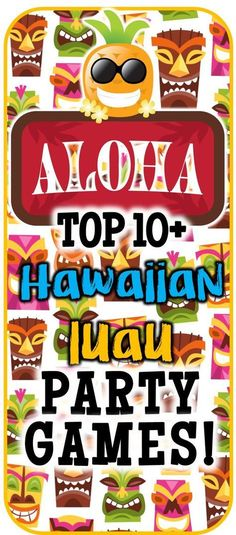 Over 12 Hawaiian luau party games to play at your luau bash! Check out this list of luau games to find a little something for everyone at your theme party! Perfect for kids, teens, and even adults.