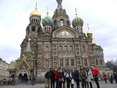 Church of the Savior on Blood, St Petersburg - Russia  Spring 2012