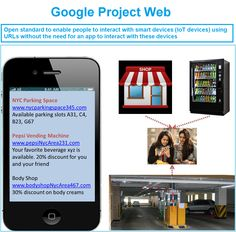 Google`s Physical Web is a new open standards project to enable people to interact with smart devices (IoT devices) using URLs without the need for an app to interact with those devices. Google S, Enabling, Physics, Physique, Physical Science