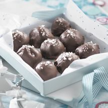 Salted Caramel Truffles from Chelsea Sugar