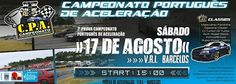 Campeonato Português de Acelaração | 15 h |17 de Agosto | Barcelos