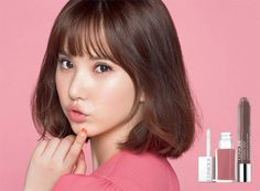 G-Friend perfect an end-of-the-year, romantic holiday look with 'Clinique' South Korean Girls, Korean Girl Groups, Clinique Cosmetics, Gfriend Yuju, K Pop Star, G Friend, Holiday Looks, Korean Singer, Pink Hair