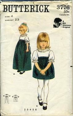 #Vintage #Sewing #Pattern Butterick 3776