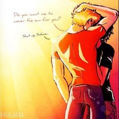 *whispers* Solangelo is love. Solangelo is life <<< Repinning is mainly for that caption! ♥