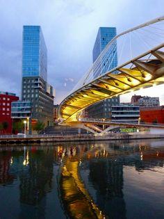 Bilbao (Pte. Zubizuri). ESP.-