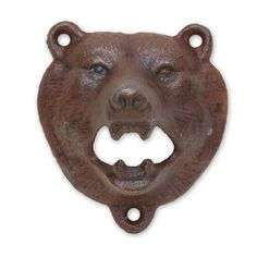 Bear Iron Wall Mount Bottle Opener Brown | eBay.  $16.98