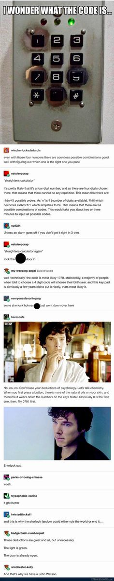 Code Solved by Sherlock Holmes