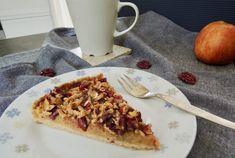 Křehký koláč ze špaldové mouky s jablky – Snědeno.cz Tempeh, Sponge Cake, Vegetable Pizza, Waffles, Food And Drink, Vegetables, Breakfast, Fitness, Morning Coffee