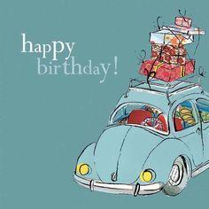 happy birthday vw kever - Google zoeken