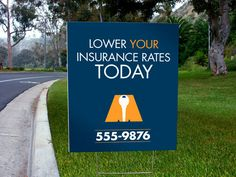 How to use yard signs for your business.