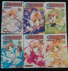 Lot 6  CARDCAPTOR SAKURA by Clamp 1 2 3 4 5 6  Tokyopop Anime Comic Manga | Books, Children & Young Adults, Children's Fiction | eBay!
