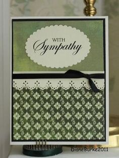 sympathy card by bethany
