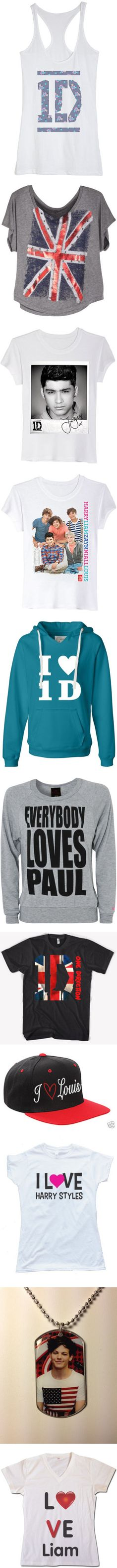Ohmygosh I need the Everybody Loves Paul shirt and the I Love Louis cap!!!!!! NEEDNEEDNEEDNEED