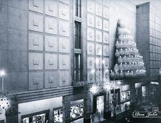 Almacenes EL ENCANTO, La Habana, Cuba (una navidad en los años 50)