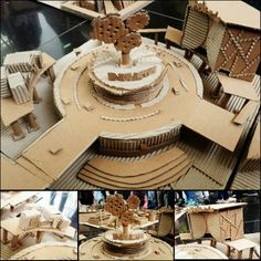 (TRANSITION - CITY/INDUSTRIAL) Model by: - Raynald Santika (Architecture) - Putri Khalisha Salsabila (Architecture) - Royyan Noor Arofianto (Interior Architecture)