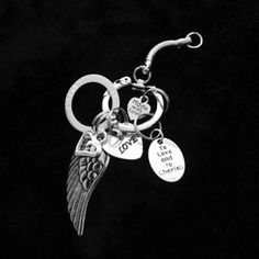 The Angel HALO Key Chain by HEAVENSBOOK on Etsy