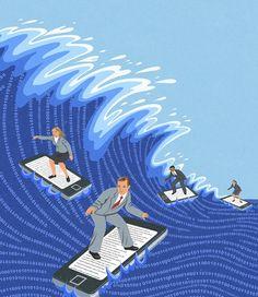 John Holcroft - Internet surfing