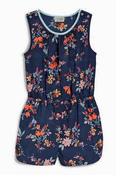 Buy Ditsy Playsuit (3-16yrs) from the Next UK online shop