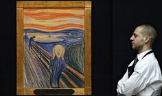 The Scream by Edvard Munch Photograph: Stefan Wermuth/Reuters