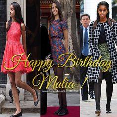 The Evolution of Malia Obama |