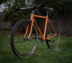 surly cross check tangerine - Google Search