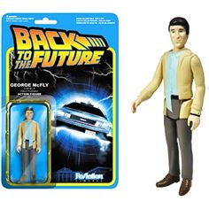 Funko Back to the Future ReAction George McFly Action Figure