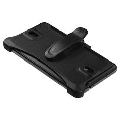 nice Microseven® Holster with Belt Clip with Microseven® Package For Samsung Galaxy Note 3 (Black Belt Clip only)