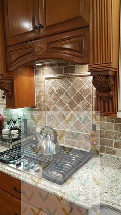 designing tile backsplash for kitchen home kitchen backsplash rh pinterest com