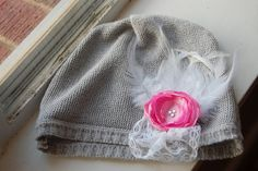 #vintage hat upcycled sweater