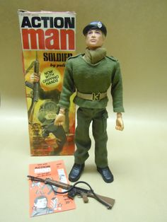 Action Man- my brother had an action man, he dated my Cindy!