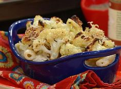 Mac 'n' Cheese with Parsnips and Roasted Cauliflower