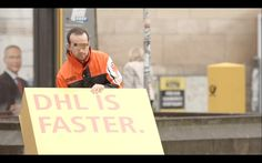 Viral Marketing Stunt Tricks Competitors Into Promoting DHL Delivery Service