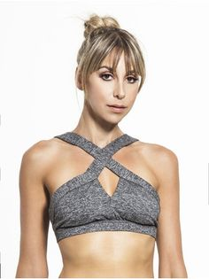 208f6cf27beea Crisscross Sports Bra Cute Gym Outfits
