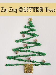 12 Christmas Tree Crafts for Kiddos