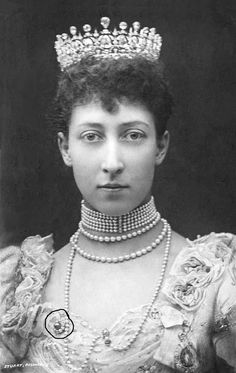 Princess Louise, Princess Royal and Duchess of Fife, wearing what came to be called 'the Fife tiara'