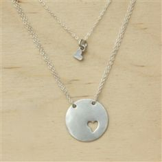 Mothers and Daughter necklace.