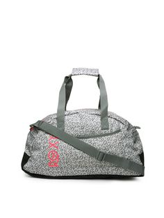Buy Roxy Women Grey Printed Duffle Bag - - Accessories for Women 943a980a344f8