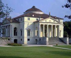 Palladio's Villa Rotunda. I used to live 15 minutes from here. <3