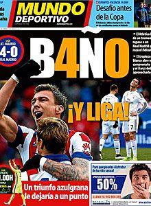 Portadas de los periódicos deportivos de España y Europa hoy Domingo, 8 de febrero de 2015 - MARCA.com