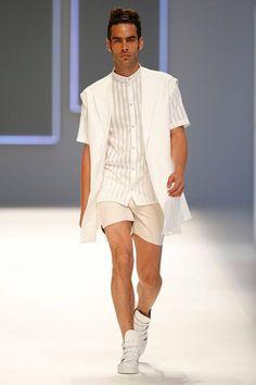 Georgina Vendrell Spring Summer 2016 Primavera Verano - 080 Barcelona Fashion - Menswear #Trends #Tendencias #Moda Hombre - M.F.T.
