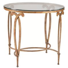 CTH Sherrill Occasional Round Lamp Table M68-30
