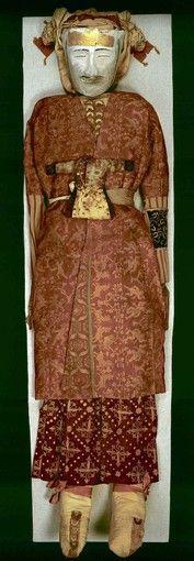 Silk Road treasures Yingpan man mummies.