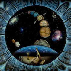 Space Art - REFLECTIONS OF FUTURE PAST - Kurt Burmann
