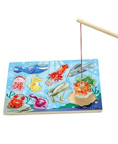 Melissa and Doug Toy, Fishing Magnetic Puzzle Game - Kids - Macy's