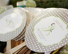 Keep Cool With a Program Fan - Wedding Obsessions | The Knot