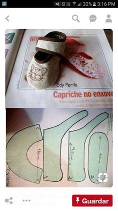 Baby Boots, Baby Girl Shoes, Girls Shoes, Baby Shoe Sizes, Baby Fabric, Shoe Pattern, Sewing Patterns For Kids, Childrens Shoes, Fabric Dolls